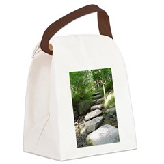 Stepping Stones Canvas Lunch Bag