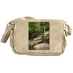 Stepping Stones Messenger Bag