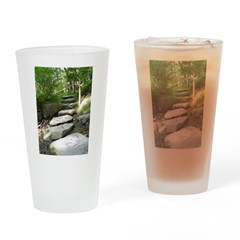 Stepping Stones Drinking Glass