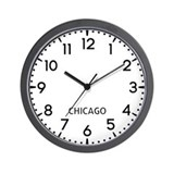 Chicago newsroom Wall Clocks