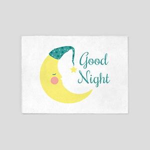 Good Night 5'x7'Area Rug