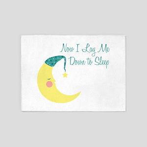 Now I Lay Me Down To Sleep 5'x7'Area Rug