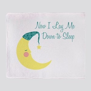 Now I Lay Me Down To Sleep Throw Blanket