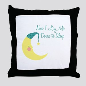 Now I Lay Me Down To Sleep Throw Pillow