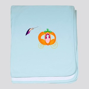Princess Carriage baby blanket