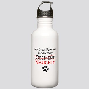 Naughty Great Pyrenees Water Bottle