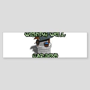 Wishing Well Gardens Bumper Sticker