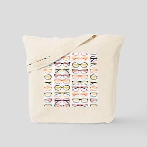 Hipster Glasses Tote Bag