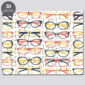 Hipster Glasses Puzzle