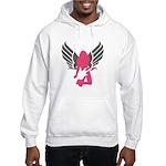 Angel Rocker Hooded Sweatshirt