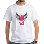 Angel Rocker White T-Shirt