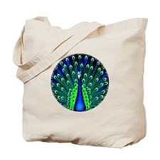 Pretty Peacock Tote Bag