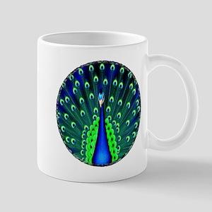 Pretty Peacock Mug