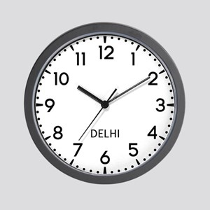 Delhi Newsroom Wall Clock