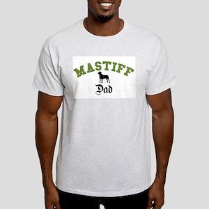 Mastiff Dad 3 Light T-Shirt