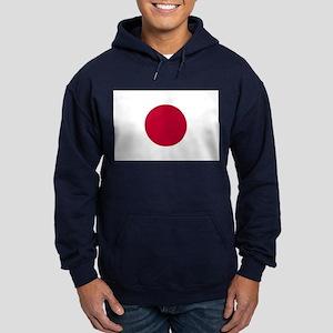 Japan Flag Hoodie (dark)