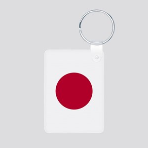 Japan Flag Aluminum Photo Keychain