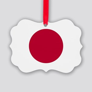 Japan Flag Picture Ornament