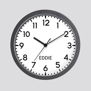 Eddie Newsroom Wall Clock
