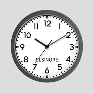 Elsinore Newsroom Wall Clock