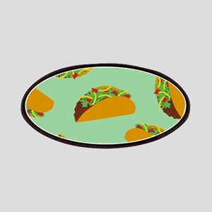 Taco Pattern Patches