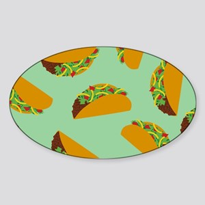 Taco Pattern Sticker