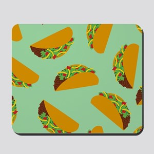 Taco Pattern Mousepad