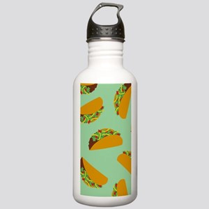 Taco Pattern Water Bottle