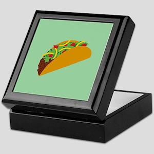 Taco Graphic Keepsake Box