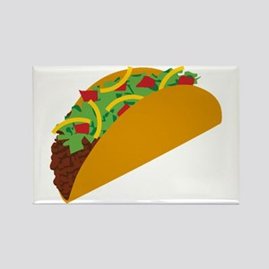 Taco Graphic Rectangle Magnet