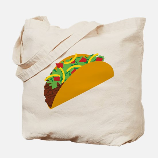 Taco Graphic Tote Bag