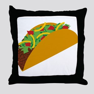 Taco Graphic Throw Pillow