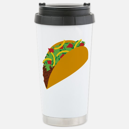 Taco Graphic Stainless Steel Travel Mug