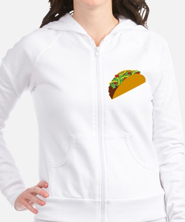 Taco Graphic Fitted Hoodie
