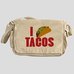 I Love Tacos Messenger Bag