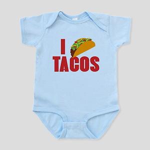 I Love Tacos Infant Bodysuit
