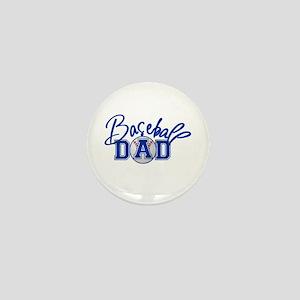 Baseball Dad Mini Button
