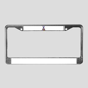 Colon Cancer License Plate Frame