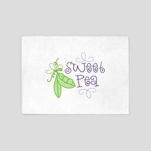 Sweet Pea 5'x7'Area Rug
