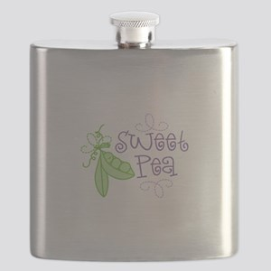 Sweet Pea Flask