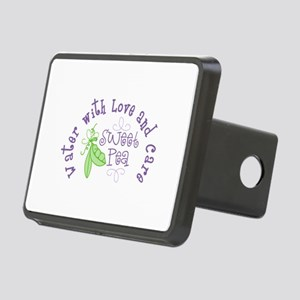 Sweet Pea Water With Love and Care Hitch Cover