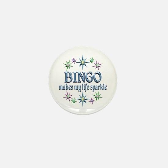 Bingo Sparkles Mini Button