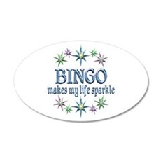 Bingo Sparkles Wall Decal