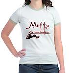 Muffy the straight chick slayer Jr. Ringer T-Shirt