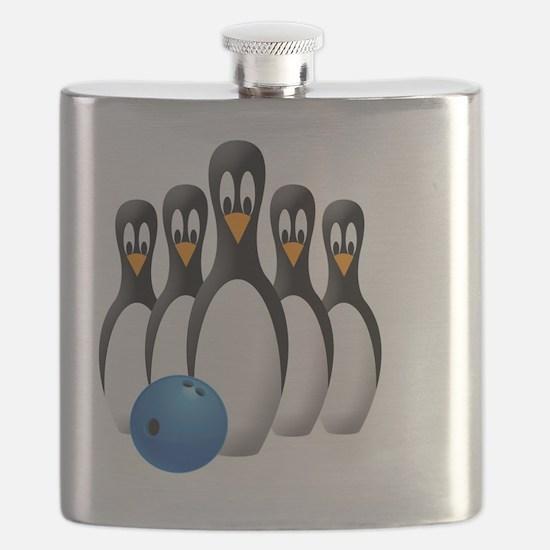 Penguins Flask