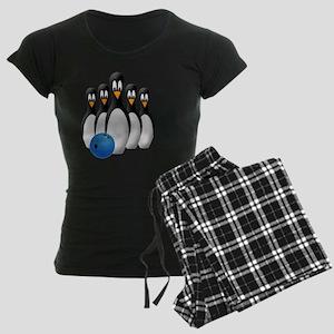 Penguins Women's Dark Pajamas