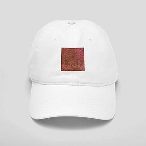 Grunge Red Flourish Vintage Antique Pattern Baseba