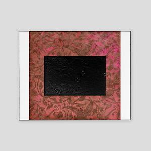 Grunge Red Flourish Vintage Antique Pattern Pictur