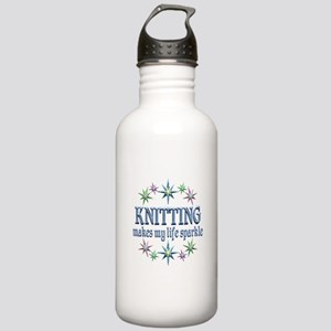 Knitting Sparkles Stainless Water Bottle 1.0L