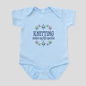 Knitting Sparkles Infant Bodysuit